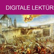 Piazza Mercatello durante la peste del 1656 - Spadaro (Public Domain Wikimedia Commons)