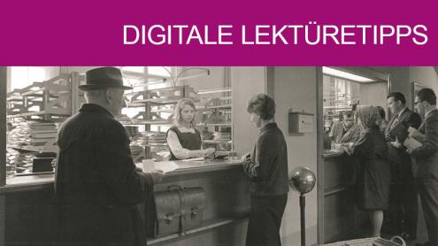 Bücherausgabe der Staatsbibliothek zu Berlin, 1963, Bild: © SLUB Dresden / Deutsche Fotothek / Roland Handrick, http://www.deutschefotothek.de/documents/obj/72038342