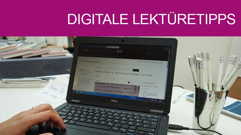 Sie fehlen uns - wir emp-fehlen Ihnen: Digitale Lektüretipps aus den Fachreferaten der SBB