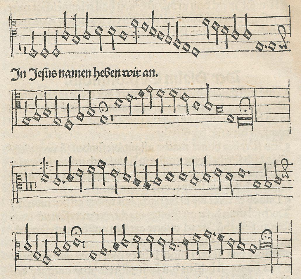 Acht Lieder - die Geburt des evangelischen Kirchengesangbuchs - SBB ...