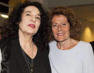 Die Geehrte und ihre Laudatorin: Ulla Unseld-Berkéwicz und Rachel Salamander. Foto: Margrit Schmidt (MMZ)