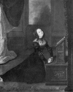 Margarethe Fürstin_von_Anhalt am Hausaltar.