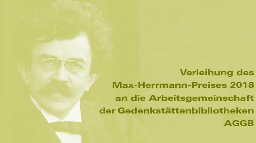 Einladung_Max_Herrmann_Preis_2018_Aufmacher_Freunde_der Staatsbibliothek