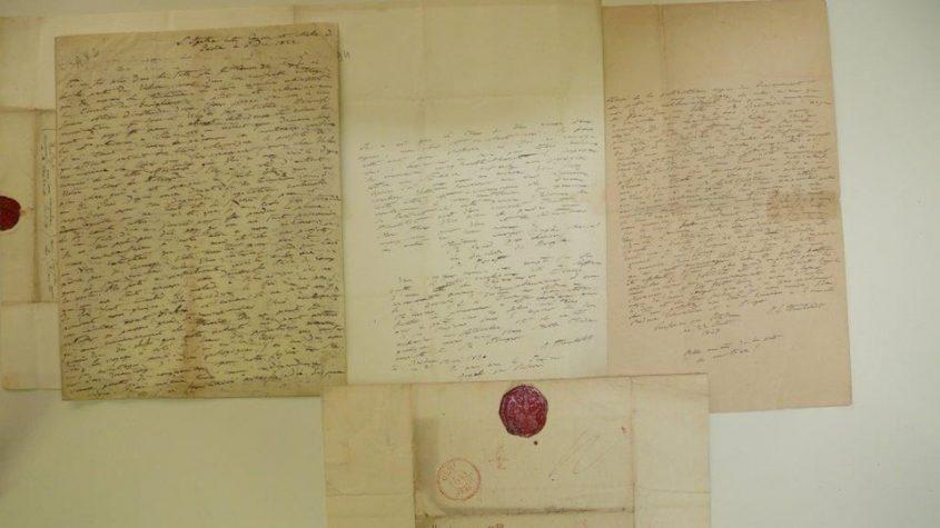 Briefe von A. v. Humboldt an Achille Valenciennes || Foto: SBB-PK