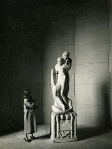 Pietà Rondanini von Michelangelo Buonarotti, Fotografie von Paolo Monti (1961). Quelle: Europeana. Rechte: Fondazione Biblioteca Europea di Informazione e Cultura (BEIC), CC BY-SA.