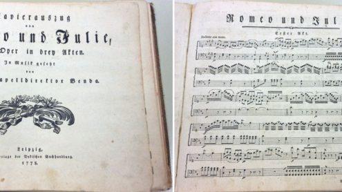 "Georg Anton Benda: ""Romeo und Julie"", 1778 (Signatur: 55 NA 4049) - Staatsbibliothek zu Berlin-PK - Lizenz: CC BY-NC-SA"