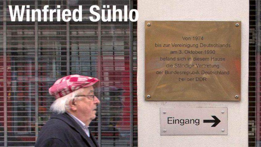 """Winfried Sühlo: """"Der rote Koffer. Mein Blick auf ein gespaltenes Land"""". verlag am park, Berlin 2016. mit freundlicher Genehmigung des Verlags"""