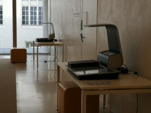 SB-Scanner im Haus Unter den Linden
