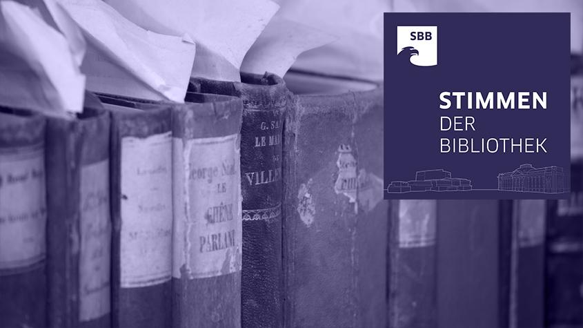 Stimmen der Bibliothek - SB 005 Einbandforschung