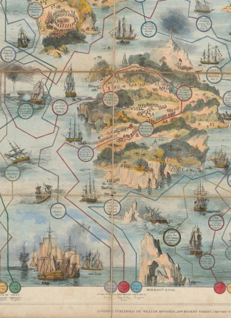 Ausschnitt aus ,A voyage of discovery', 1836. – SBB-PK, Signatur Kart. W 29840/4. - Foto: Hagen Immel, SBB-PK / Lizenz: CC BY-NC-SA 3.0