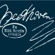 Schriftzug Beethovens aus einem Brief mit einem historischen Sigel der Staatsbibliothek zu Berlin