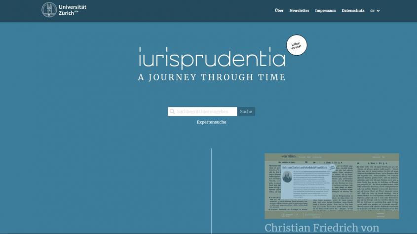 """Startseite """"iurisprudencia.online"""""""