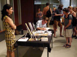 Carll Cneut signiert - auf Papier, nicht als Tattoo! - Staatsbibliothek zu Berlin-PK/S. Putjenter CC NC-BY-SA
