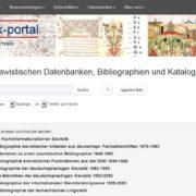 Screenshot Slavistik-Portal/Bildnachweis: Osteuropa-Abteilung, Lizenz: CC BY-NC-SA 4.0