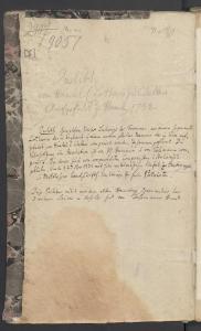 Auf der Innenseite des Buchdeckels von Judith, Gemahlin Kaiser Ludewig des Frommen. Opern-Pasticcio. Partiturabschrift ca. 1732-1740. Staatsbibliothek zu Berlin – PK. Lizenz: CC-BY-NC-SA