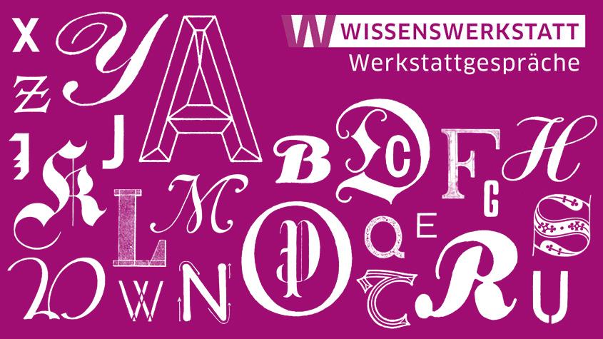 Visuelle Systeme – interdisziplinäre Perspektiven auf Schrift und Typografie. © 2019 Fritz Grögel