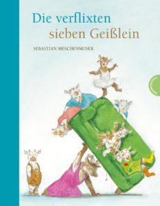 Sebastian Meschenmoser: Die verflixten sieben Geißlein (2017)