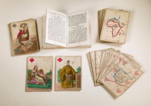 Kartenspiel mit Karten aus Wien, 1830. – SBB-PK, Signatur Kart. W 29831. – Foto: Hagen Immel, SBB-PK / Lizenz: CC BY-NC-SA 3.0