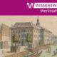 Bildausschnitt: Aquarell Breslau, Zuchthaus. Aus: Stridbeck, Johann: Skizzenbuch : Ms. boruss. qu. 9a , 1691 - Staatsbibliothek zu Berlin - PK