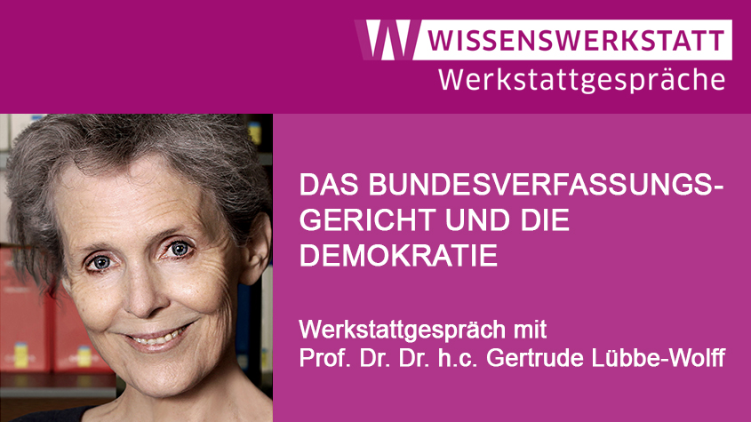 Prof. Dr. Dr. h.c. Gertrude Lübbe-Wolff © Sarah Moos/bielefeld fotografie