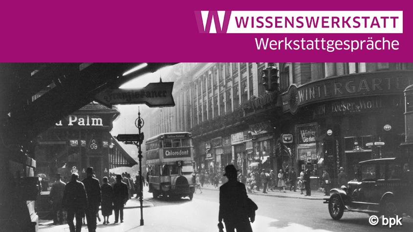 © bpk | Blick von der Bahnhofsunterführung Richtung Süden in die Friedrichstraße. Berlin, um 1930