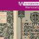 Georg Hirth: Das deutsche Zimmer der Renaissance, München 1882. SBB PK (Signatur 1 C 345) | Stefan George: Der Teppich des Lebens und die Lieder von Traum und Tod, Berlin 1900. SBB PK (Signatur Yo 28000)