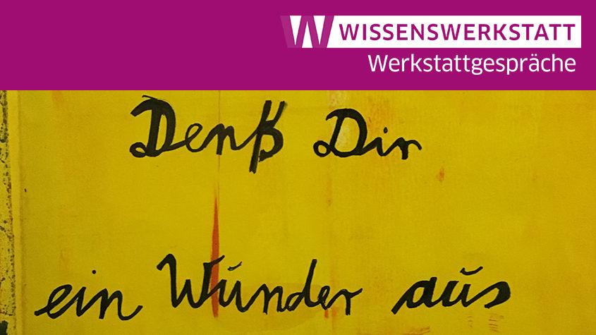 Bildausschnitt: Bild und Text in der für Meyer typischen Farbigkeit seiner Buchkunst