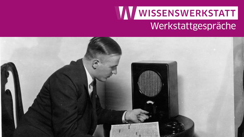 Radio Listener 'Volksempfaenger'/ 1933. Photograph. Britannica ImageQuest, Encyclopædia Britannica © akg-images / Universal Images Group / Rights managed