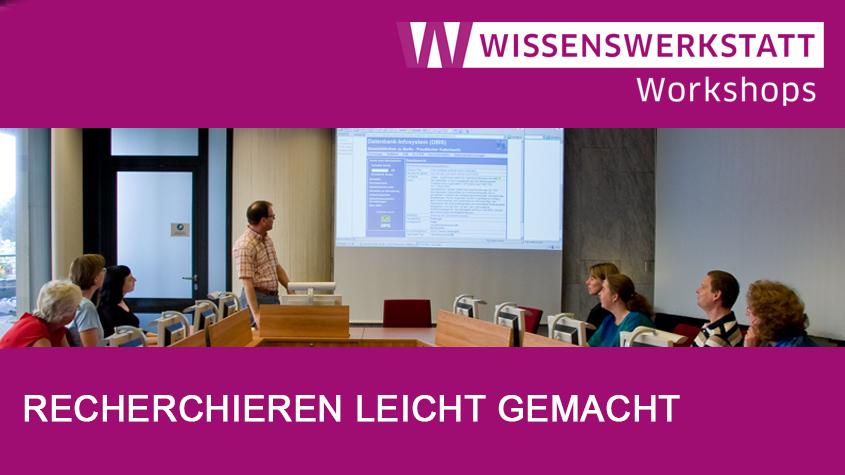 Workshop der Wissenswerkstatt   SBB-PK CC-BY-NC-SA 3.0