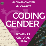 Coding Gender | SBB-PK Public Domain