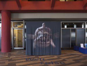 Eingang zur Ausstellung im Foyer der Staatsbibliothek zu Berlin Foto: Udo Meinel