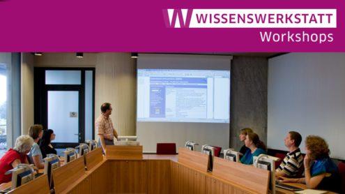 Wissenswerkstatt Workshop im Haus Potsdamer Straße