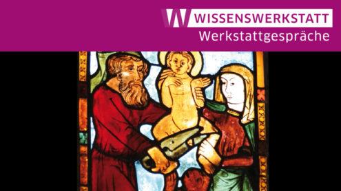 Beschneidung des Antichrist (Antichristfenster: süd II 1c, Marienkirche, Frankfurt/Oder, Chorhaupt) Foto: Sonja Schwirkmann