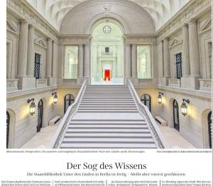Süddeutsche Zeitung, Montag 25.01.2021, Nr. 19, Seite 9 | Foto: SBB PK