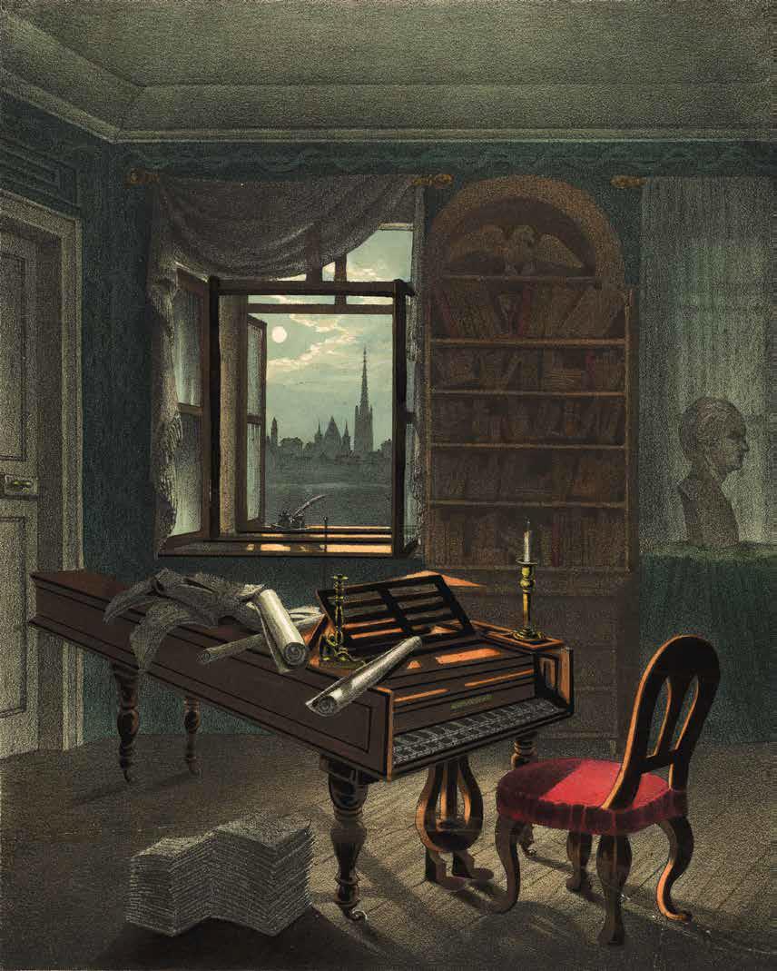 Beethovens Schlaf- und Klavierzimmer