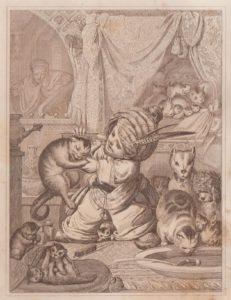 Hauff, Wilhelm: Märchen. Mit 6 Radierungen von J. B. Sonderland. 6. Auflage - Stuttgart: Brodhag, 1842.