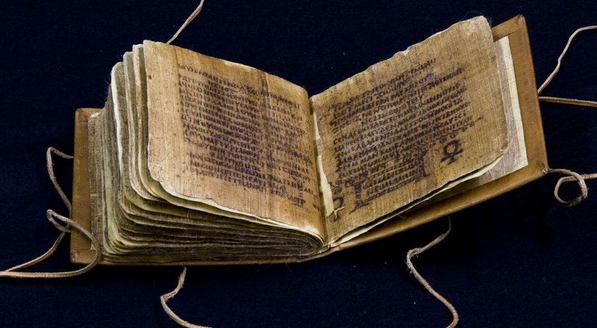 Koptischer Papyruskodex mit den Sprüchen Salomos (Abschrift Ägypten, Ende 4. Jh., SBB-Orientabteilung, Ms. or. oct. 987) © Staatsbibliothek zu Berlin – PK || CC BY-SANC 3.0
