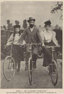 Carl Fressel: Das Radfahren der Damen vom technisch-praktischen und ärztlich-gesundheitlichen Standpunkte (1897)