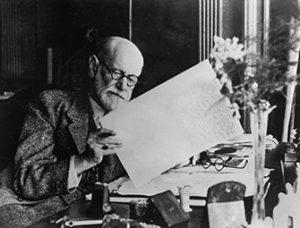 Sigmund Freud in seinem Arbeitszimmer (um 1930) | © bpk