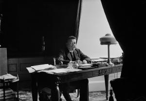 Friedrich Ebert, erster Reichspräsident der Weimarer Republik