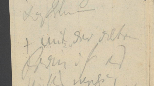 Ludwig van Beethoven, Konversationsheft 21, ca. 27. bis 29. Januar 1823