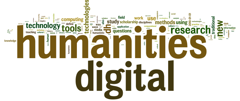 "Word cloud von ""What is Digital Humanities"""